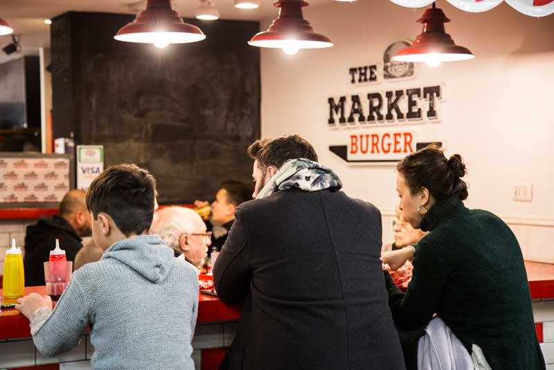 The market burger barra